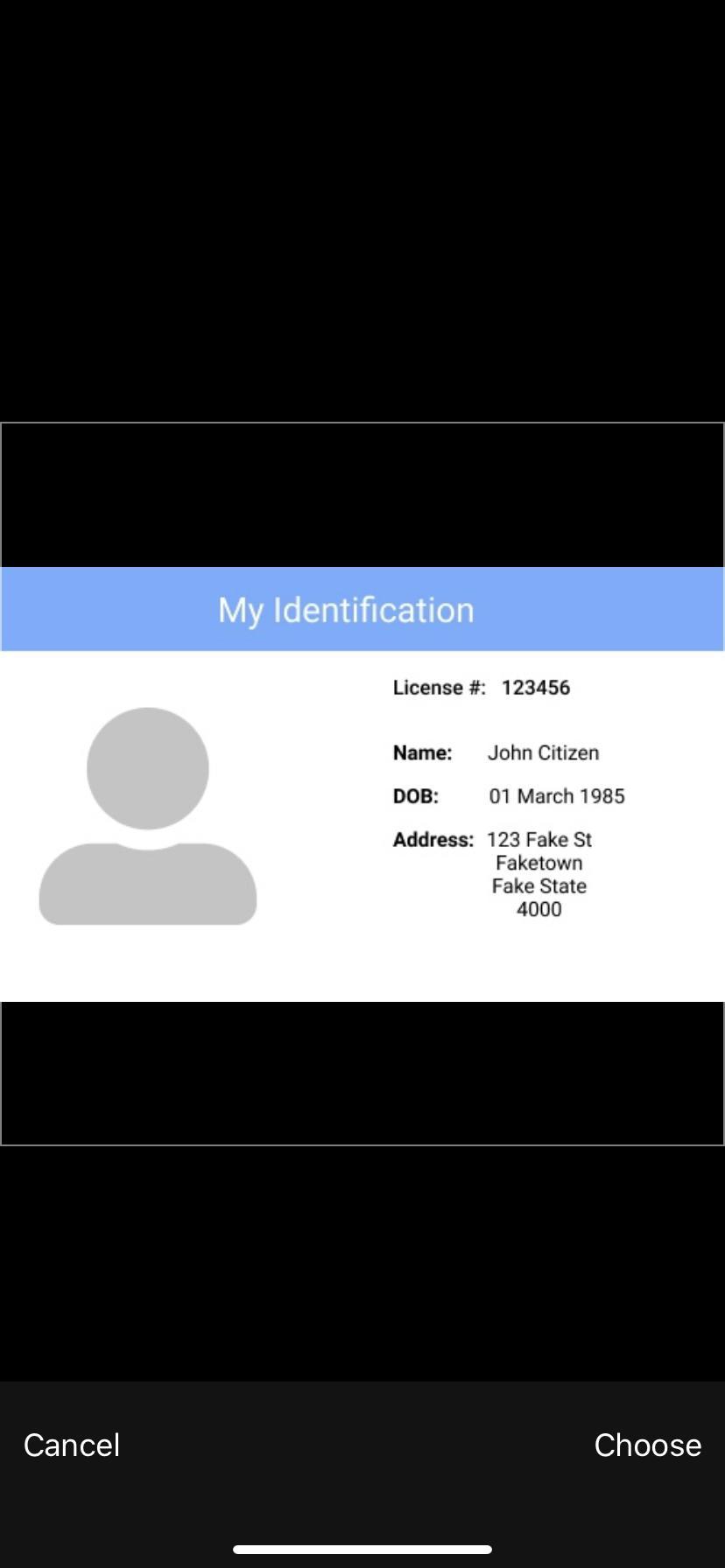 Choose ID