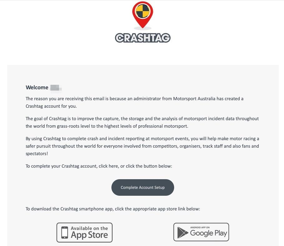 Example Invite Email